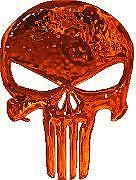 Punisher Orange Glass Macbook Notebook Laptop Sticker Decal