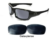 Galaxy Replacement Lenses For-Oakley Fives Squared Sunglasses Iridium Black
