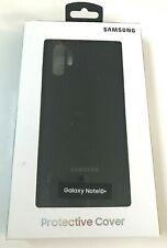 Genuine Samsung Slim Silicone Case for Samsung Galaxy Note10+ Black