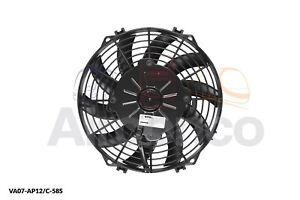 "Spal Axial Fan, VA07-AP12/C-58S, 12v (Push) 9"" (225mm) - Genuine Product"