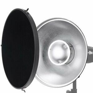 Godox 42cm Beauty Dish Inner-Silver Bowens Mount + Grid For Studio Flash Light