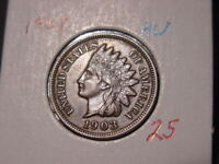 1903 INDIAN HEAD CENT AU BETTER DATE COIN NICE COMBINED SHIPPING