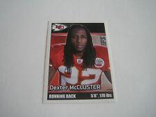 2012 Panini Football Dexter McCluster Sticker #194***Kansas City Chiefs***