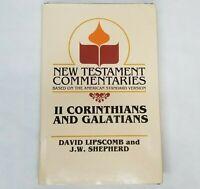 Gospel Advocate New Testament Commentary II Corinthians Galatians ASV Lipscomb