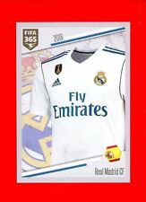 FIFA 365 2017-18 PANINI 2018 -Figurina Sticker- n. 193 - MAGLIA REAL MADRID
