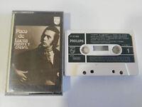 PACO DE LUCIA FUENTE Y CAUDAL 1973 SPAIN EDITION - Cinta Cassette Tape - 2T
