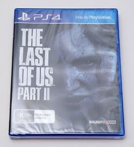 New Sealed The Last of Us Part 2 II Sony Playstation Game PS4 Naughty Dog PAL