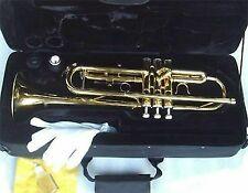 Anaxa Brass Concert Band Bb Trumpet with Case