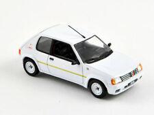 Norev 1:43 471750  Pugeot 205 Rallye 1300 1988 Meije White NEW
