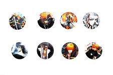 Bleach Badges / Ichigo, Hitsugaya, Byakuya, Kenpachi