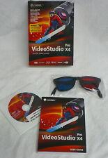 Corel VideoStudio Pro X4 - Windows XP, Vista, 7, 10 - with 3D glasses