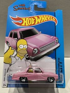 Hot Wheels The Simpsons 56/250 NEW SEALED UNOPENED VHTF