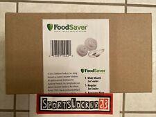 FoodSaver Jar Sealer Kit Regular Widemouth Sealer Vacuum Sealer w Hose - NEW 🔥