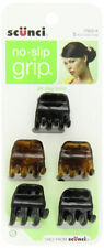 SCUNCI - No-slip Grip Chunky Jaw Clips Pack - 5 Clips