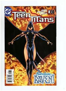 Teen Titans #8 1st Appearance Ravager Rose Wilson 2004 VF+