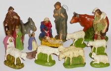 Alte Krippefiguren Krippe Weihnachtskrippe Figuren Masse 13cm Weihnachten Figure