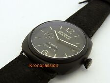 Panerai Radiomir Ceramic PAM 384 8 Days Power Reserve 45mm New !