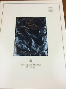 VICTORIA'S SECRET Hosiery SALE!! Small BLACK Opaque PANTYHOSE NEW PKG Lot 790