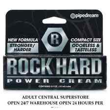 Rock Hard Penis Power Long Lasting Erection Enhancer Sex Aid Cream