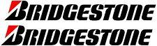 2 x Bridgestone Decals Stickers Vinyl 150mm Any Colour