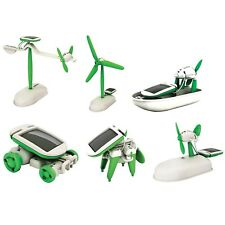 Engineering Solar Powered Kids Toy Science Experiment Gift Robotics Kit For Boy