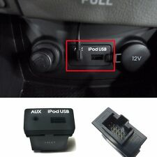 Black AUX iPod USB Connector Jack Assy For OEM Parts Hyundai 2007-2010 Elantra