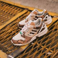 Adidas Originals ZX 8000 Mens Lethal Nights Brown White Red Shoe Trainer Sneaker