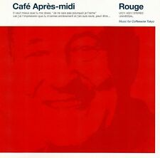 CAFE APRES-MIDI - ROUGE / CD - TOP-ZUSTAND