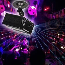Full Color 80 Patterns RGB Laser Light Projector Stage Party DJ Disco LED Light