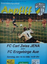 TICKET Friendly 6.7.2003 Erzgebirge Aue FC Schalke 04
