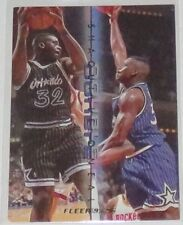 1995/96 Shaquille O'Neal Magic NBA Fleer Double Double Insert Card #10 of 12 NM