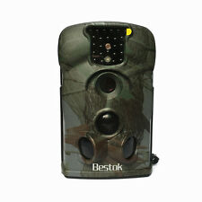 Bestok 12MP HD IP54 IR Scouting Digital Hunting Trail Game Cam Camera+8g