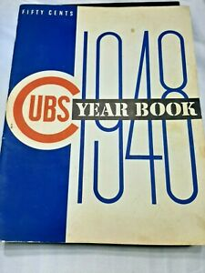 1948 Chicago Cubs Yearbook