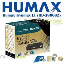 DECODER SATELLITARE DVB-S2 TIVUSAT HUMAX Tivumax LT (HD-3800S2) - CON TESSERA