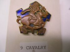 US Army WWII Ninth Cavalry Regiment Distinctive Unit Insignia (DUI) Japanese M