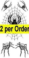 Araña De Muerte Halloween 2 tatuajes temporales falso a prueba de agua la prisión de transferencia de cuerpo