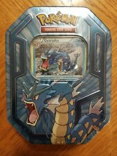 Pokemon Gyarados Collector Tin With Gyarados Foil and 3 TCG Booster Packs New