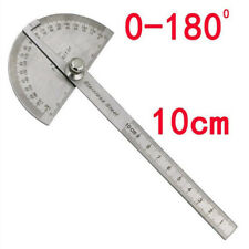 Stainless Steel Angle Finder Protractor Rule Measure Tool for Machinist Designer