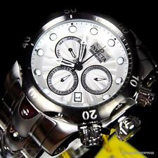 Invicta Venom Swiss Movt Chronograph 53mm Stainless Steel Silver Watch New