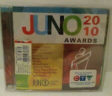 Juno Awards 2010 by Various Artists (CD, Mar-2010, Sony Music Entertainment) New
