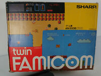 Sharp Twin Famicom en boite import Japon console AN-500B