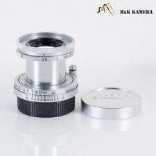 LEITZ Leica Elmar L39 50mm/F2.8 Lens Yr.1958 LTM Germany #858