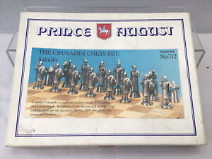Prince August 54mm Mould Kit No.712 The Crusades Chess Set Saladin Side #150