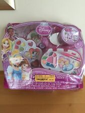 Disney Princess 11 Piece Beauty Center Swing Out Case with Mirror