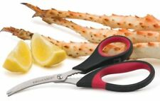 RSVP Lobster Shrimp Crab Seafood Scissors Shears Snips Crack Shells Devein sea-j