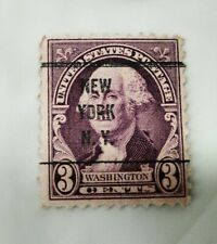 3 Cent George Washington Stamp New York NY