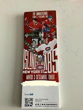 unused hockey tickets Montreal Canadiens 110th anniversary decemhber 3th 2019