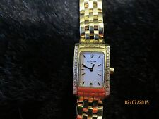 18 KT Gold & Diamond Longines Watch