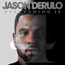 JASON DERULO CD - EVERYTHING IS 4 [EXPLICIT](2015) - NEW UNOPENED - R&B