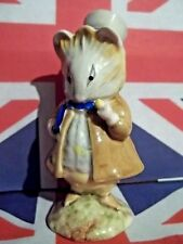 BEATRIX POTTER FIGURINE AMIABLE GUINEA PIG TOP HAT & CANE BP3B BESWICK RARE
